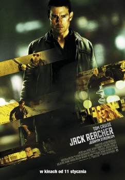 Polski plakat filmu 'Jack Reacher: Jednym Strzałem'