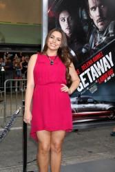Sophie Simmons - 'Getaway' premiere in Westwood 8/26/13