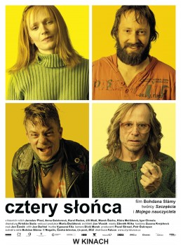 Polski plakat filmu 'Cztery Słońca'