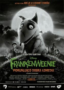 Przód ulotki filmu 'Frankenweenie'
