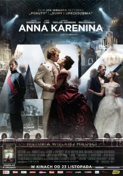 Przód ulotki filmu 'Anna Karenina'