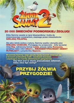 Tył ulotki filmu 'Żółwik Sammy 2'