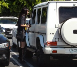 Kylie Jenner out in West Hollywood 8/31/13