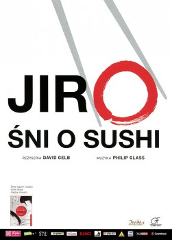 Przód ulotki filmu 'Jiro Śni O Sushi'