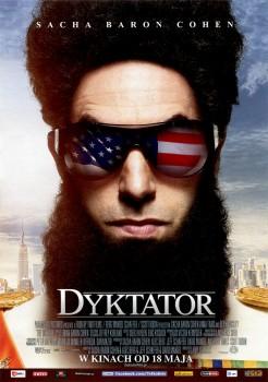 Przód ulotki filmu 'Dyktator'