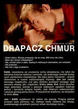 Tył ulotki filmu 'Drapacz Chmur'
