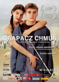 Przód ulotki filmu 'Drapacz Chmur'