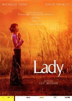 Przód ulotki filmu 'Lady'