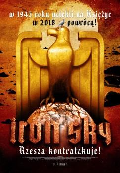 Polski plakat filmu 'Iron Sky'