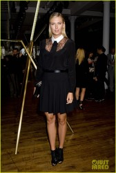 Maria Sharapova - Jason Wu Spring 2014 Fashion Show in NYC 9/6/13