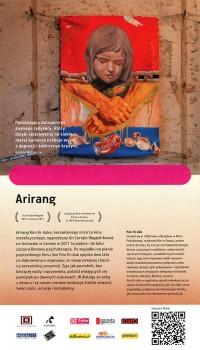 Tył ulotki filmu 'Arirang'