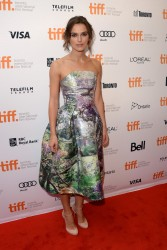 Keira Knightley - 'Can A Song Save Your Life' premiere at the 2013 TIFF 9/7/13