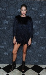 "Doutzen Kroes - H&M & Vogue Studios Celebrate ""Between The Shows"" Event in NYC 9/6/13"