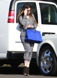 Khloe & Kourtney Kardashian - Filming in LA 9/9/13