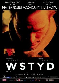 Przód ulotki filmu 'Wstyd'