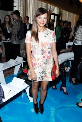 Rashida Jones - Tory Burch Spring 2014 fashion show in NYC 9/10/13