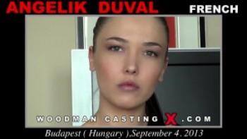 Angelik Duval Woodman Casting X
