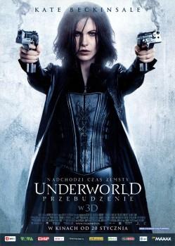 Przód ulotki filmu 'Underworld: Przebudzenie'