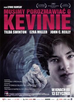 Przód ulotki filmu 'Musimy Porozmawiać O Kevinie'