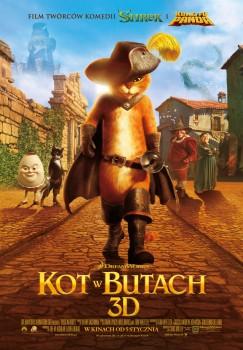 Polski plakat filmu 'Kot W Butach'