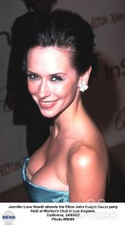 Jennifer Love Hewitt at the Elton John Instyle Oscar Party in Los Angeles on March 24, 2002