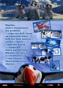 Tył ulotki filmu 'Happy Feet: Tupot Małych Stóp 2'