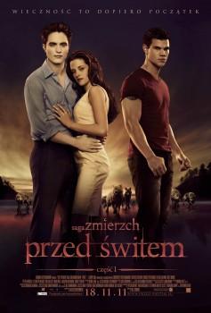 Polski plakat filmu 'Saga Zmierzch: Przed Świtem. Część 1'