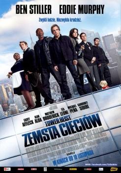 Przód ulotki filmu 'Tower Heist: Zemsta Cieciów'