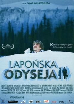 Przód ulotki filmu 'Lapońska Odyseja'