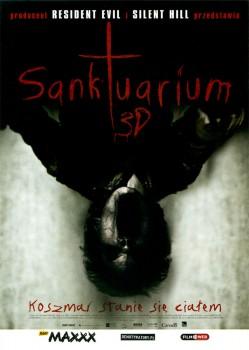 Przód ulotki filmu 'Sanktuarium'