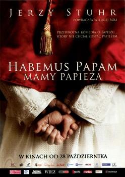 Przód ulotki filmu 'Habemus Papam - Mamy Pappieża'