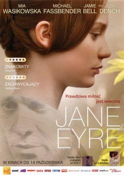 Przód ulotki filmu 'Jane Eyre'