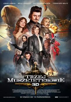 Polski plakat filmu 'Trzej Muszkieterowie'