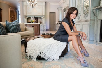 ROBIN MEADE legs -- portrait photo