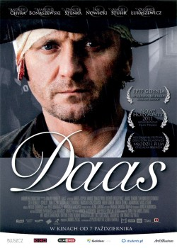 Przód ulotki filmu 'Daas'