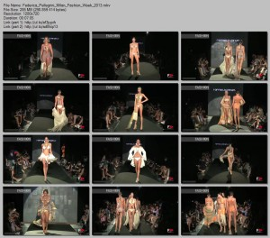 Federica Pellegrini | Milan Fashion Week | September 21, 2013 | Beachwear
