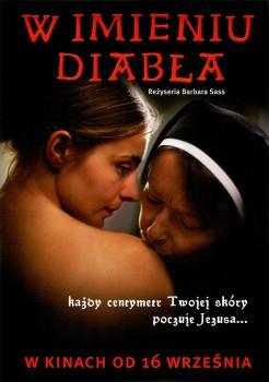 Przód ulotki filmu 'W Imieniu Diabła'