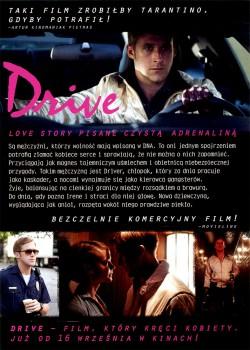 Tył ulotki filmu 'Drive'