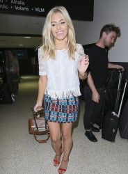 Mollie King - at LAX Airport 9/23/13