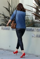 Mandy Moore - out in Beverly Hills 9/24/13