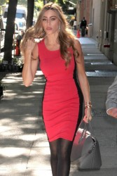 Sofia Vergara - heads to a taping of Live with Kelly & Michael in NYC 9/25/13