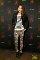 Jamie Chung - Apothic Dark wine launch event in Santa Monica 9/24/13