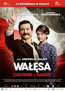 Przód ulotki filmu 'Wałęsa. Człowiek Z Nadziei'