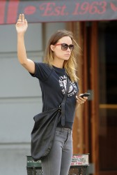 Olivia Wilde - out in NYC 9/29/13