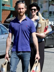 Anne Hathaway - at Whole Foods in West Hollywood 9/29/13