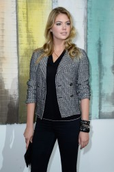 Kate Upton - Chanel S/S 2014 fashion show in Paris 10/1/13