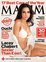 Lacey Chabert in Maxim - November 2013