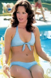 Jaclyn Smith: Sexy Teal Bikini: HQ x 1