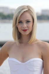 Laura Vandervoort - MIPCOM photocall in Cannes 10/7/13