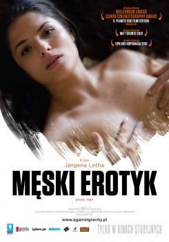 Przód ulotki filmu 'Męski Erotyk'